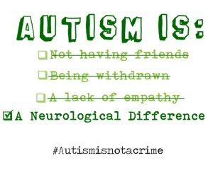 Autism is not a crime